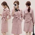 Suede velvet coat jacket female 2017 Spring and winter new Korean Slim long-sleeved suede coat