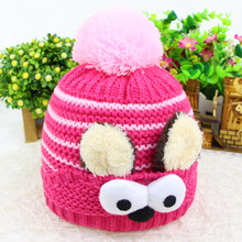 Baby Hat Kids Winter Hats Newborn Cap Hot Super Soft Wool Beanie Bonnet for Boys Girls Photo Props Baby Clothing Knitted Cap