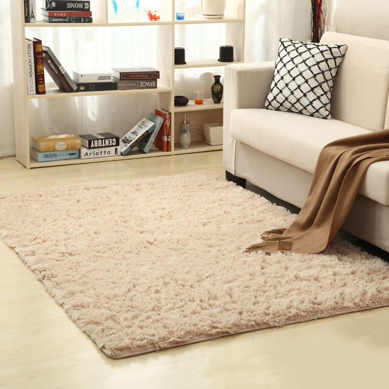 16 Colors Solid Rugs Pink Puple Carpet Thicker Bathroom Non slip Mat Area rug for living room Soft Child Bedroom Mat Vloerkleed in Carpet from Home Garden