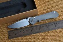Yidu small sebenza25 real D2 TC4 titanium handle folding knife camping hunting outdoor survival tool pocket EDC Knives tools
