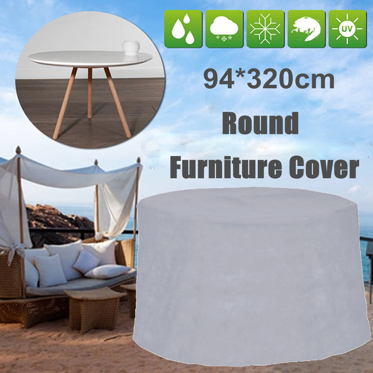 Outdoor Garden Patio Furniture Cover Waterproof Dustproof Desk Table Chair Cover For Sofa Table Chair Dust Proof Cover ProtectOutdoor Garden Patio Furniture Cover Waterproof Dustproof Desk Table Chair Cover For Sofa Table Chair Dust Proof Cover Protect