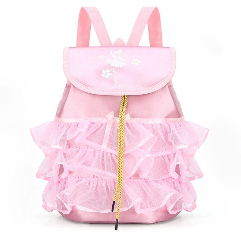 Girl Ballet Bag Professional Dance Bag For Girl Baby Children Ballerina Dancing Waterproof Gymnastics Backpack Kid Handbag