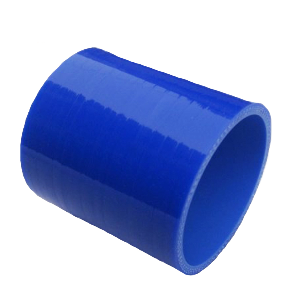 Universal BLUE ID:1.38 ID:35mm 3-Ply Straight Silicone Intercooler Turbo Air Intake Pipe Coupler Hose blue Intercooler silicone image