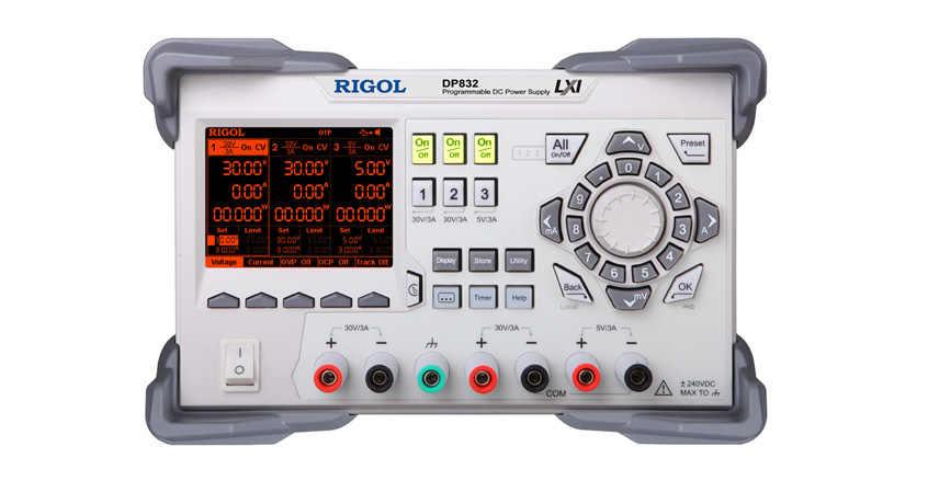 RIGOL DP832 программируемый Линейный источник питания постоянного тока 3 канала