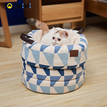 New Arrival Cat Soft Cave Comfortable Mat Sleeping Bags For Dog cama para gato Top Quality Winter warm Bed cat