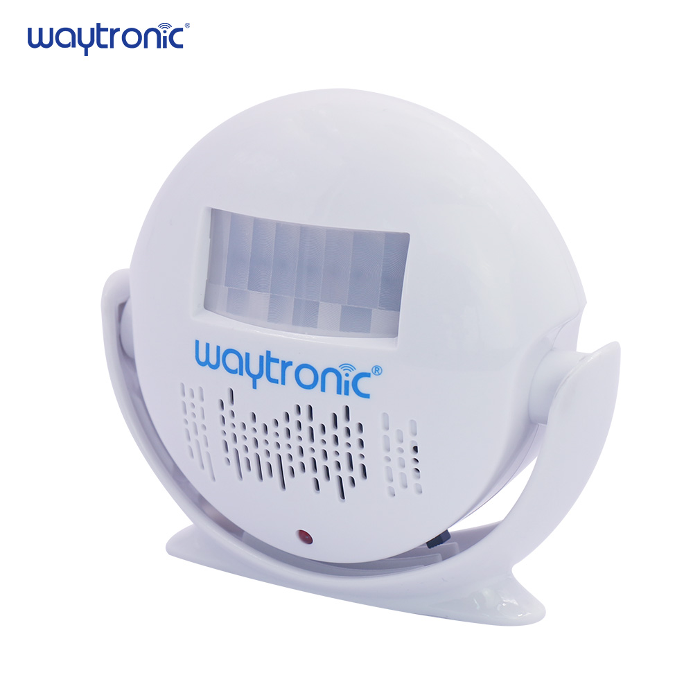 Wireless PIR Motion Sensor Automatic Welcome Door Bell Voice Recordable Audio Player For Shop Store Visitor Greeting