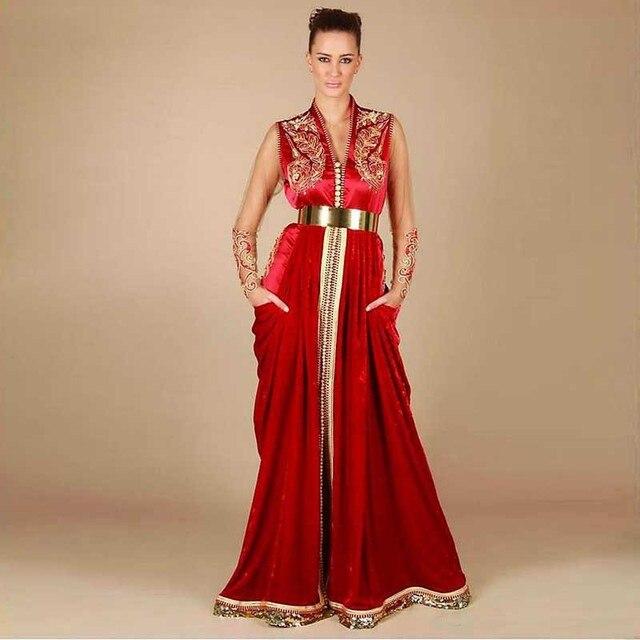 Robe de soiree style caftan