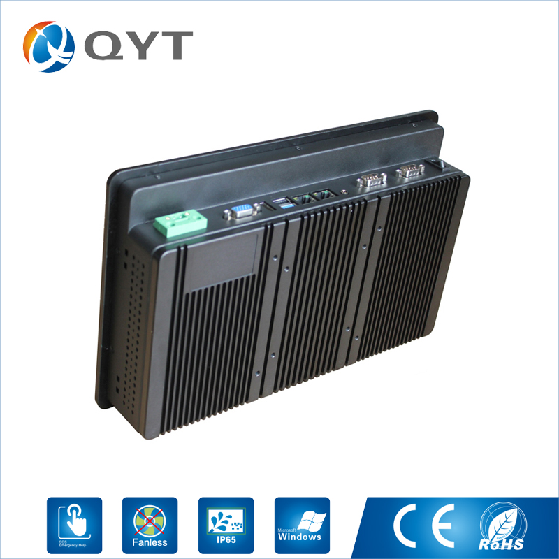 Image 4 - QYT industrial panel pc 11.6 inch tablet pc for industrial using with intel i3 cpu