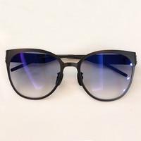 2019 Classic Simple Cat Eye Sunglasses Women Luxury Metal Frame Sun Glasses Classic Retro Shades De Soleil Femme UV400