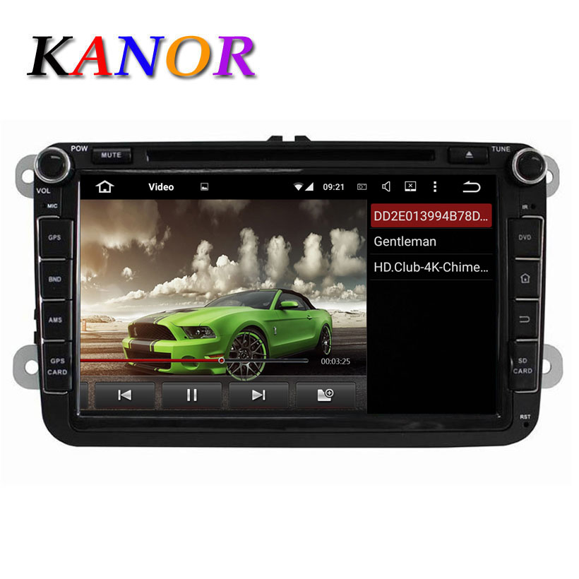 1024*600 Quad Core 16GB Autoradio For Skoda Octavia II III Fabia Superb 2005-2010 GPS Navigation Android 5.1.1 Car DVD Player