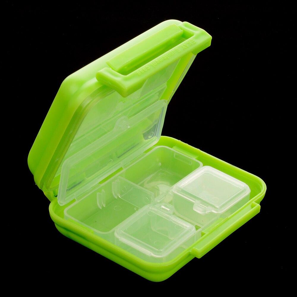 Портативный 8 ячеек карман таблетки медицина коробка для хранения Чехол Организатор путешествий Pill Контейнер Бесплатная доставка