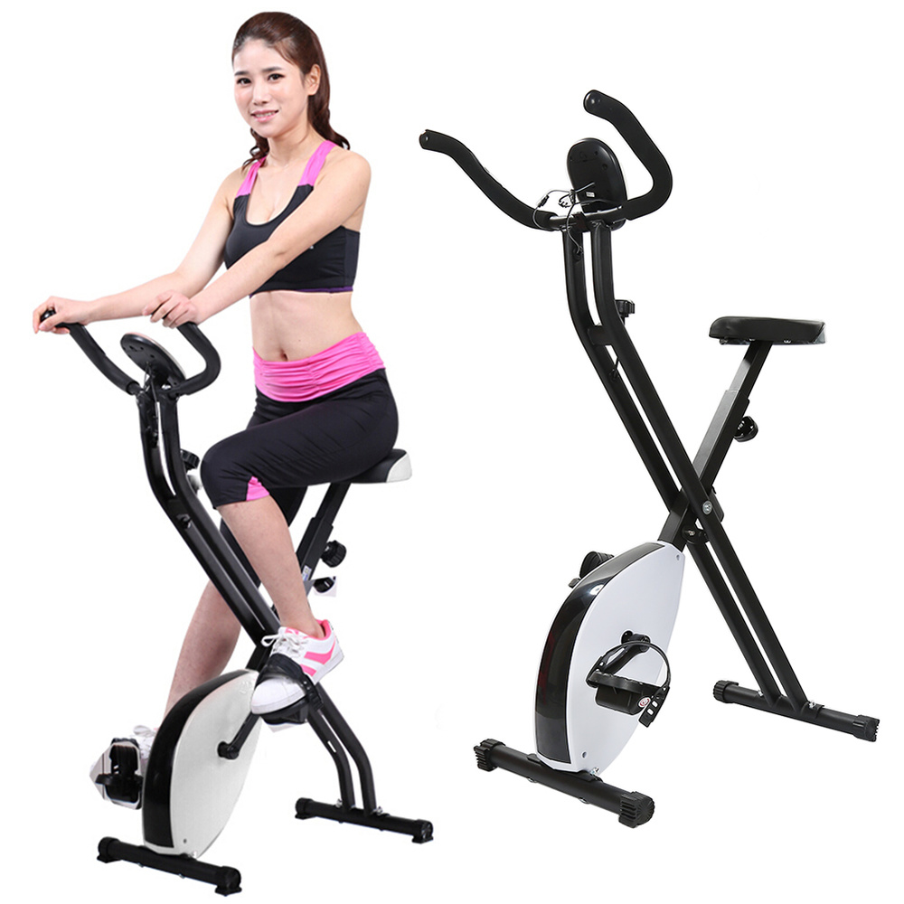 все цены на Ultra Quiet Sports Gym Machine Lose Weight Exercise Static Bike Simulator Fitness Cycling Equipment Spinning Bicycle Trainer HWC онлайн