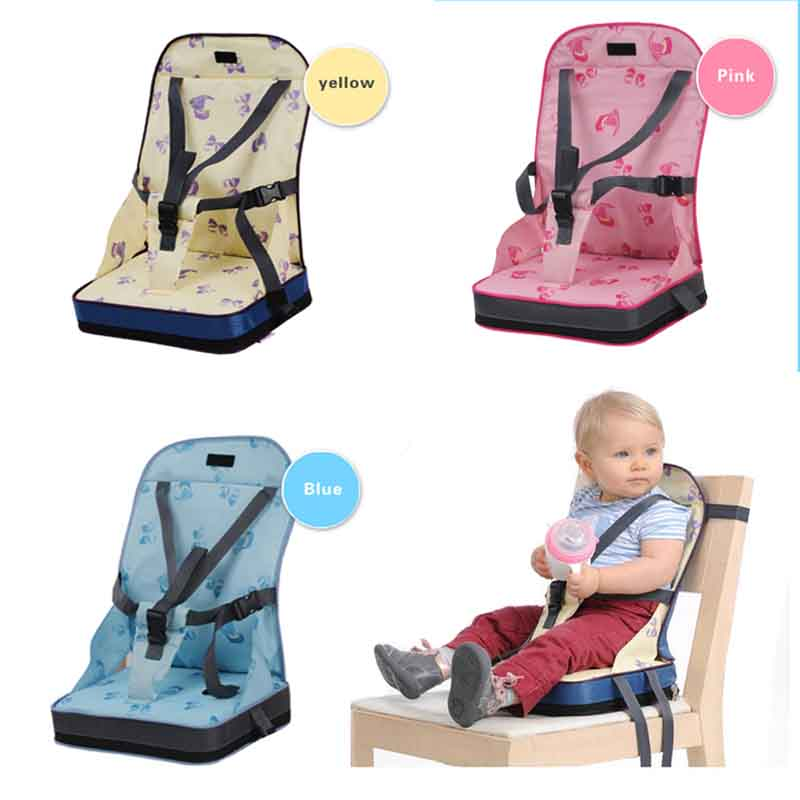 Baby Seat Portable Oxford Booster Dinner Chair Waterproof Folding Chair Baby Feeding Highchair Baby Chair Seat Baby Furniture 35
