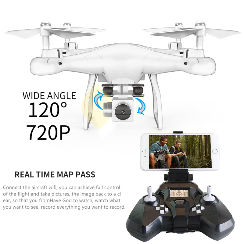 New FPV WIFI 2MP drone with HD camera quadcopter Micro Remote control uav drone kit helicopter racer aircraft racing toy
