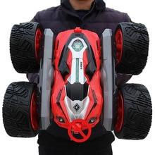 Rc 四輪駆動オフロード rc カードリフトスタント変形両面車の充電式子供のおもちゃの車