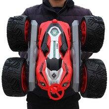 Voiture rc Super quatre roues motrices hors route voiture rc dérive cascadeur déformation double face voiture rechargeable voiture jouet pour enfants