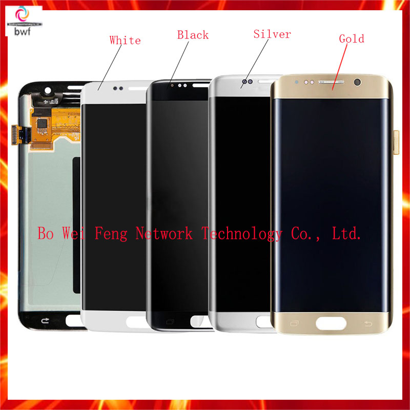 Best Quality For Samsung Galaxy S7 Edge G935 LCD Display Touch Screen with Digitizer Assembly Replacement, Free Shipping brand new for samsung s7 edge g9350 g935 g935f g935fd lcd screen display with touch digitizer replacement assembly free shipping