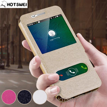 Case for Samsung A3 A5 A7 Case for Samsung Galaxy A3 A310 A320 A5 A510 A7 2016 2017 NEW View Window Leather Flip Cover Phone Bag