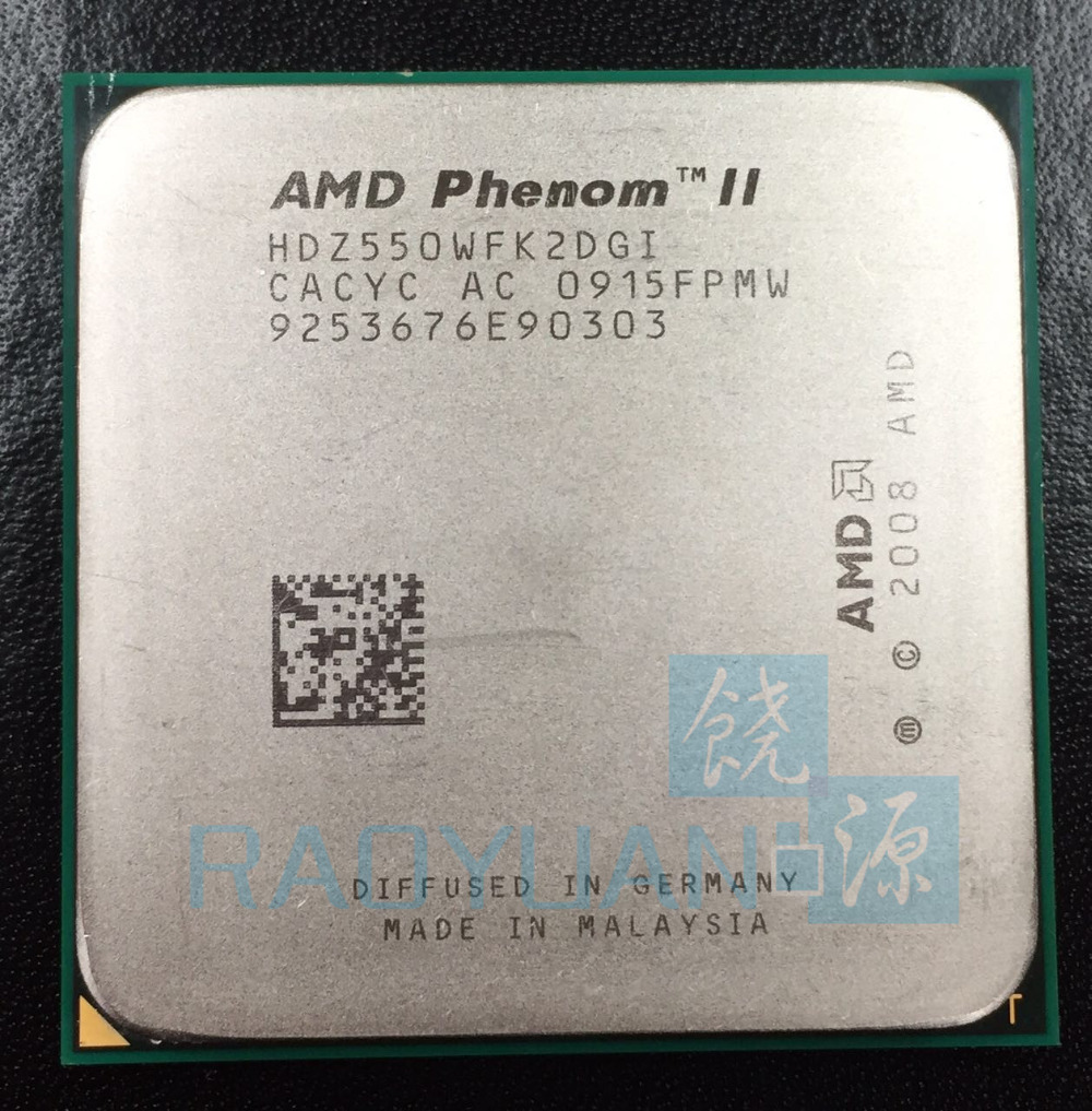 AMD Phenom II X2 550 3.1 GHz Dual-Core CPU Processor X2-550 HDZ550WFK2DGI Socket AM3