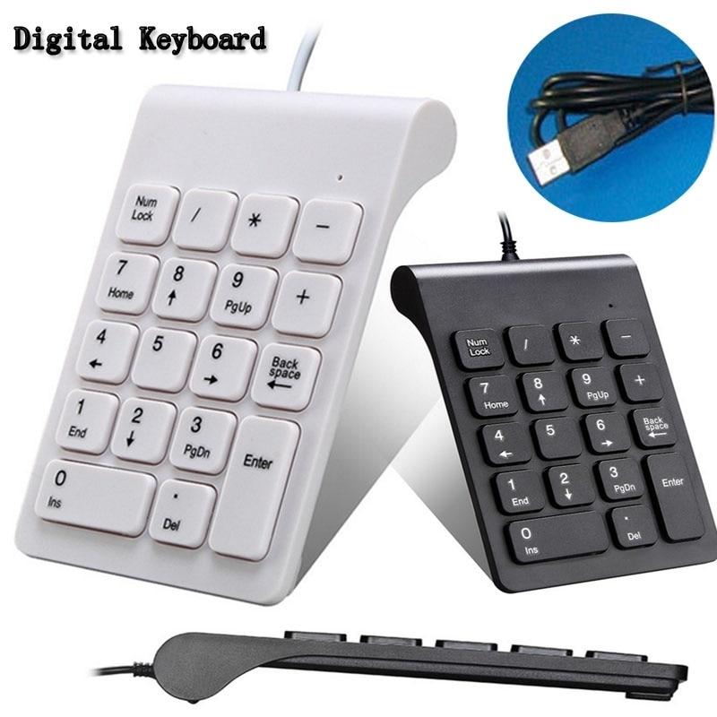 Universal 2.4G Wireless Digital Keyboard USB Number Pad 18 Keys Mini Numeric Keypad For Laptop PC Notebook