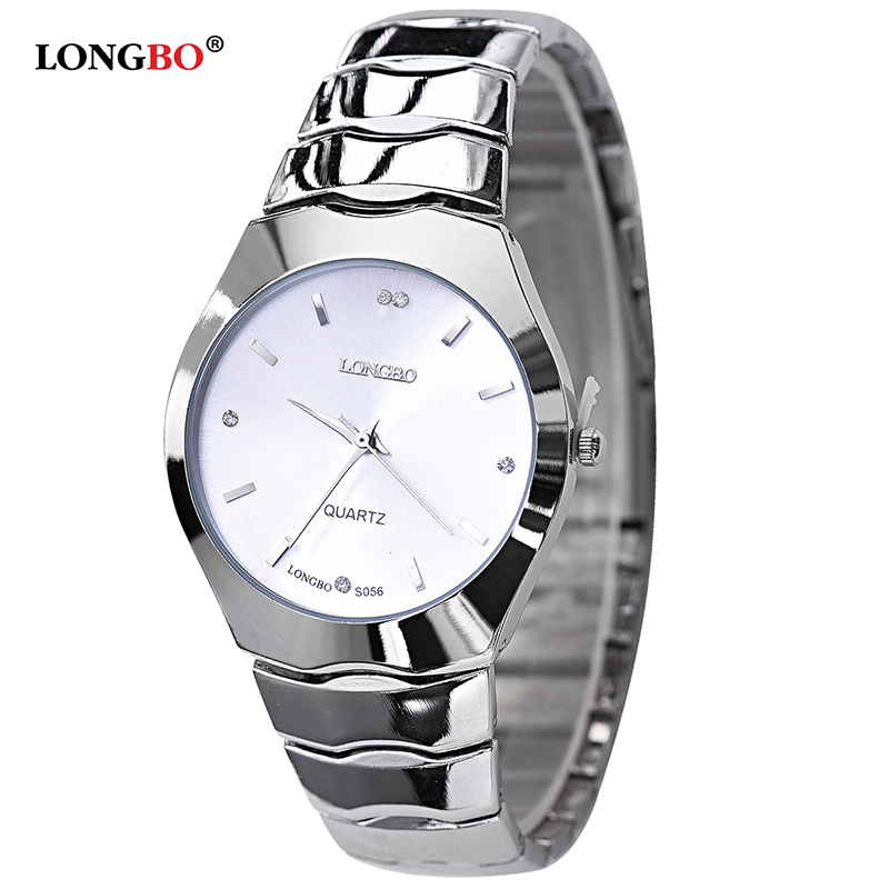 Lovers Luminous Steel Watches Couple Business Men Full Steel Watch Quartz Waterproof Luxury Fashion Women rhinestone watches