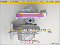 Free Ship GT2556S 754127 0001 758714 5001 2674A431 754127 5001S Turbo Turbocharger For Perkins Industrial Various 1104A 44T 4.4L|turbocharger| |  -