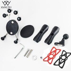 Image 5 - Support de téléphone portable paresseux réglable moto rétroviseur support de support de support de guidon pour support de moto de téléphone mobile intelligent