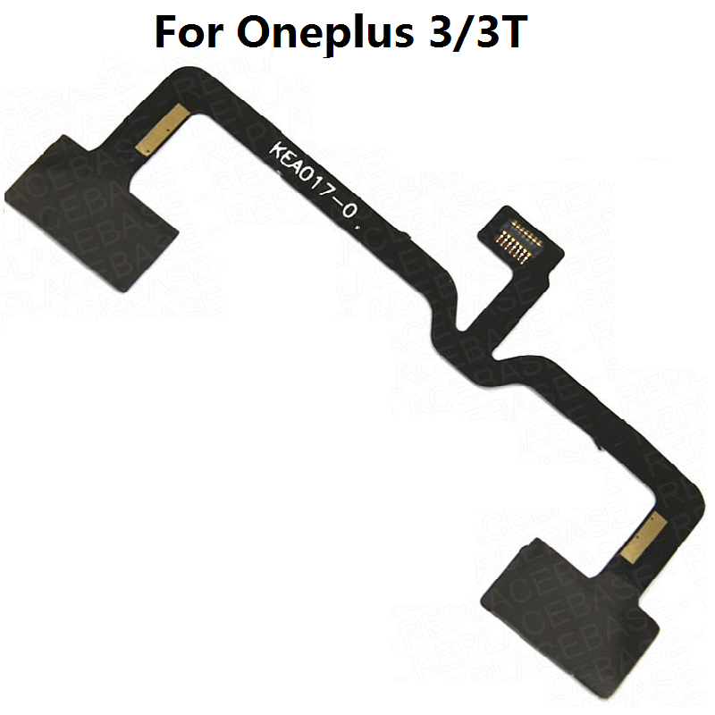 Menu Button Sensor Flex Cable Ribbon Replacement For OnePlus Three 3 3T 5 Oneplus X E1005 E1003 E1001