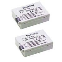 2 pièces 1800 mAh LP-E8 LP E8 Batterie Pour Appareil Photo Canon EOS 550D 600D 650D 700D X4 X5 X6i X7i Rebelles T2i T3i T4i T5i LC-E8E SSY-2290