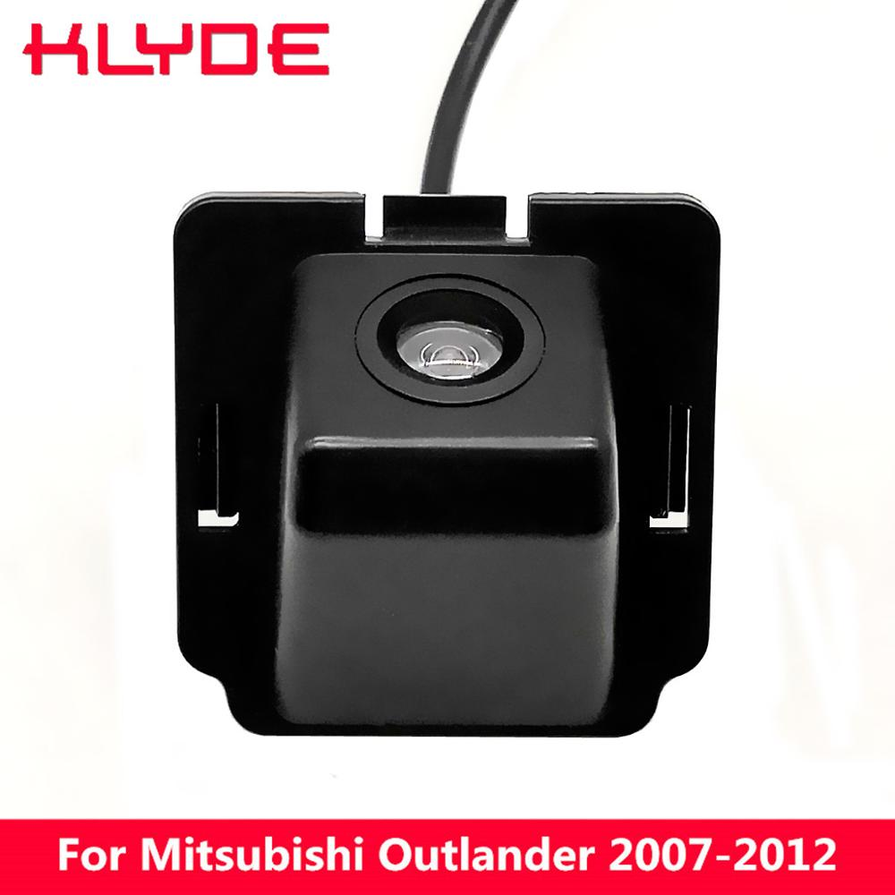 KLYDE 170 Degree Night Vision HD Car Rear View Reverse Parking Camera For Mitsubishi Outlander 2007 2008 2009 2010 2011 2012