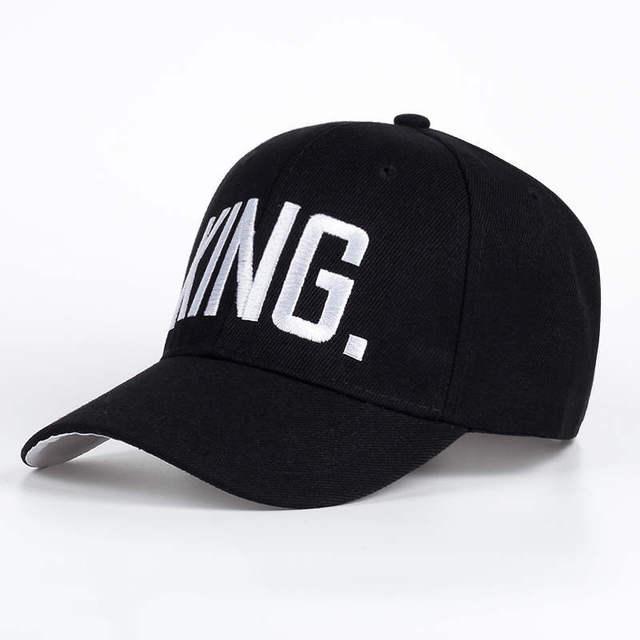 KING Black snapback hat 5c64fe6f2c3a9