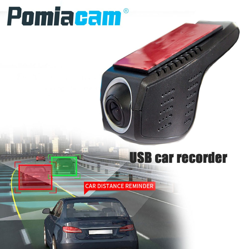 цена на Q1 1080P ADAS Car DVR Camera USB DVR Camera for Android 4.4 / 5.1.1/6.0 Car PC Car DVR Camera Driving recorder