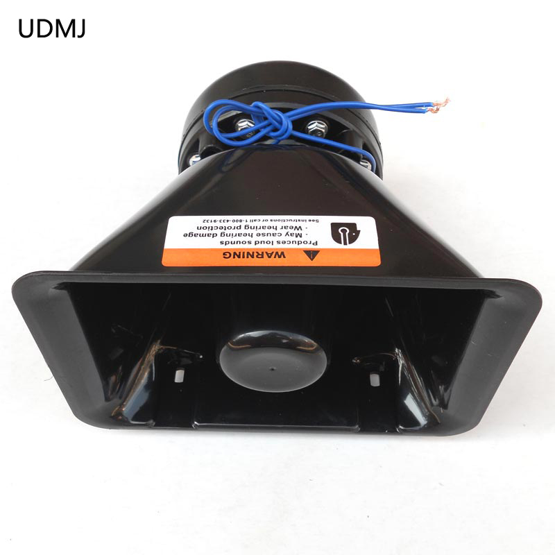 UDMJ Hot sale New Arrival Selling Oblique Speaker 200W Equipped With 200W Plice Siren, Loud Sound High-Quality Speakers