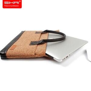 Image 4 - Новый портативный портфель KUMON для ноутбука, сумка для ноутбука Huawei MateBook, водонепроницаемый чехол для Macbook, для Dell