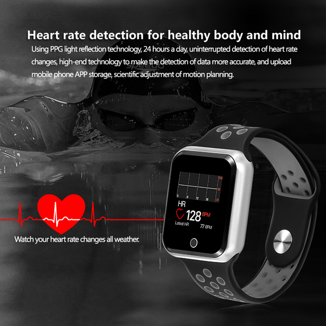 LEMFO Smart watch Pedometer Heart Rate Blood Pressure Monitor Smartwatch IP 67 Waterproof Smart Watches for Men Women
