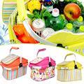 picnic basket picnic bag ice pack insulation bag cooler box food basket, Handheld basket foldable picnic basket