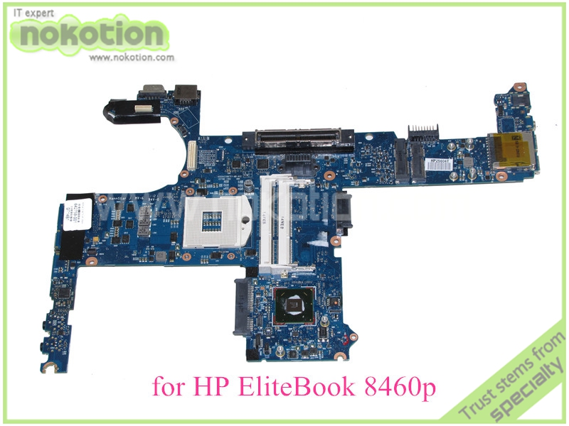 NOKOTION 642759-001 For HP Elitebook 8460P Motherboard QM67 DDR3 Intel HD Graphics