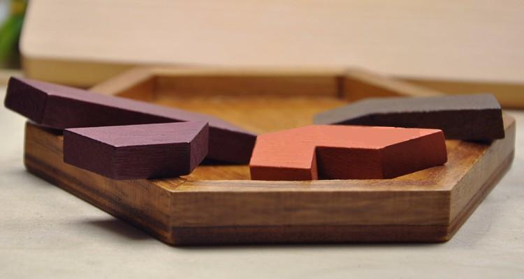 Kids Puzzles Wooden Toys Tangram/Jigsaw Board Wood Geometric Shape P Children Educational Toys 18