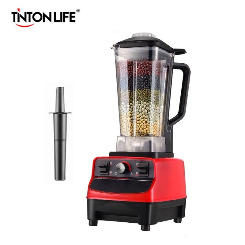 TINTON LIFE 33000R/M sans BPA de qualité commerciale maison professionnel Smoothies mélangeur de puissance mélangeur de nourriture presse-agrumes robot culinaire