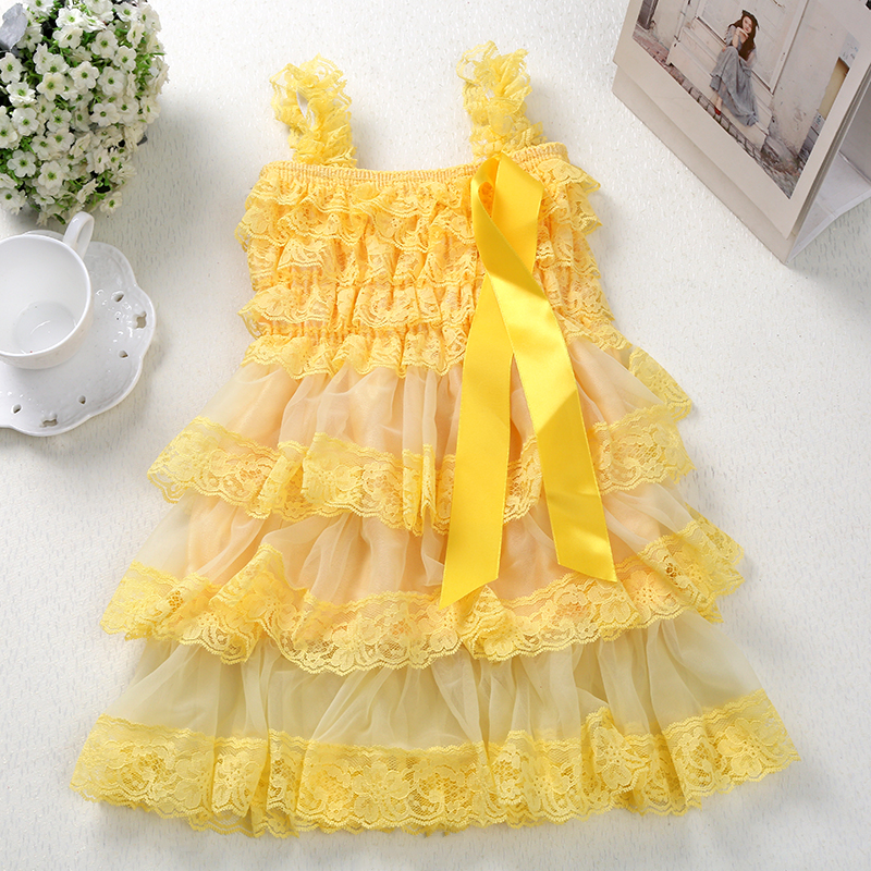 Summer Baby Girl Dress Baby Toddler Chiffon Tulle Lace Photography props Vestidos Costume for Children Wedding Party clothing