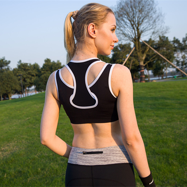 7d21e34384 Professional sports bras Breathable quick-drying Shockproof underwear vest  women dancing yogaYOGA fitness exercise GYM running