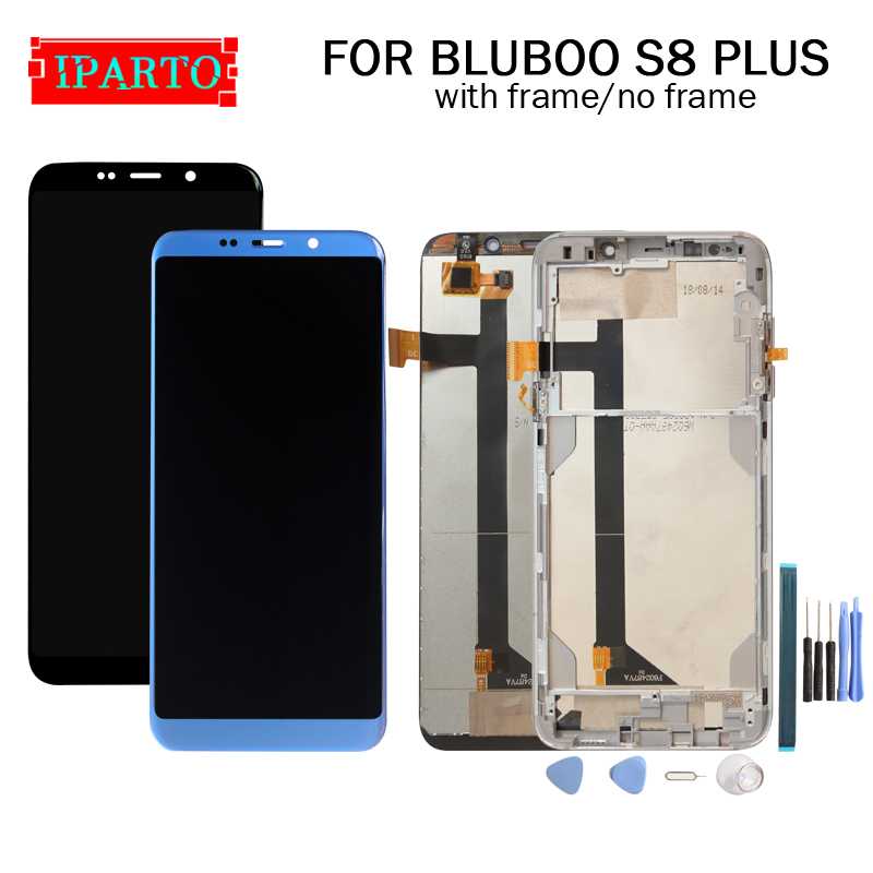 6 0 inch for BLUBOO S8 PLUS LCD Display Touch Screen Digitizer Assembly 100 Original New