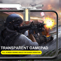 cell phone PUBG Mobile Cell Phone Game Controller Fire Button Key Gamepad Shooter Trigger (3)