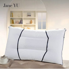 JaneYU U Type Magnetic Therapy Neck Protection Pillow Cotton High Elastic Breathable Core Adult Health Pillow недорого