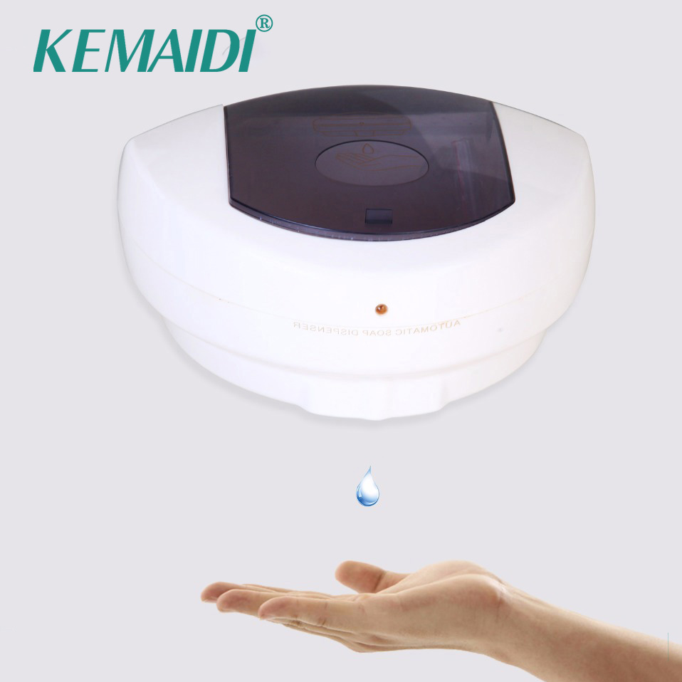 KEMAIDI Free Shipping Home Soap Dispenser Base Wall Mounted Stainless Steel Touch-free Sanitizer Dispenser For Kitchen Bathroom 11 11 free shippinng 6 x stainless steel 0 63mm od 22ga glue liquid dispenser needles tips
