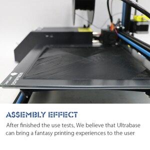 Image 4 - ANYCUBIC Ultrabase для 3D платформа для печати с подогревом кровать сборная поверхность стеклянная пластина для MK2 MK3 Горячая