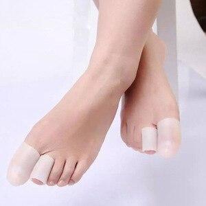 Image 2 - 1 пара, силиконовые выпрямители для пальцев ног