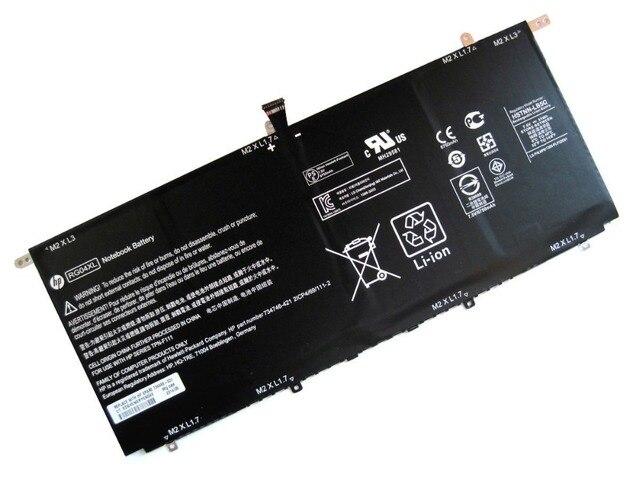 Подлинная 51Wh батарея для HP Spectre 13 - 3000 13t-3000 RG04XL RG04051XL HSTNN-LB5Q 734746 - 421 734998 - 001 TPN-F111 аккумулятор ноутбука