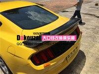 Adecuado para FORD Mustang 2015 Alerón trasero de fibra de carbono alerón trasero