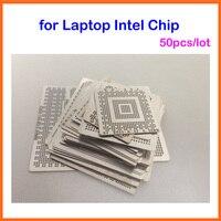 Ноутбук Intel Чип 50 шт./компл. BGA трафарет Tample комплект